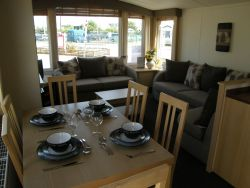 Luxury accommodation in a private caravan rental at Butlins Skegness