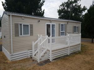 Bluebell Holiday Caravan Rental at Oakdene Forest Park near to Ringwood - 3 Bedrooms - Sleeps 8