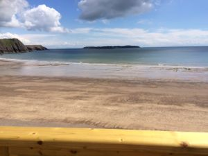 The Beach House at 248 Holiday Caravan Rental at Lydstep Beach Village near to Tenby - 3 Bedrooms - Sleeps 7
